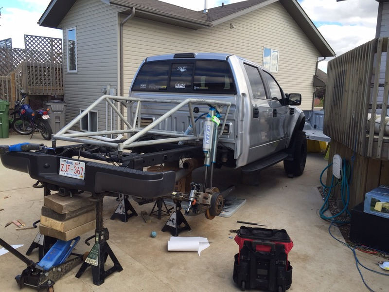 Giant MotorSports » F-150 | Raptor 04-15 Bolt in Bed Cage