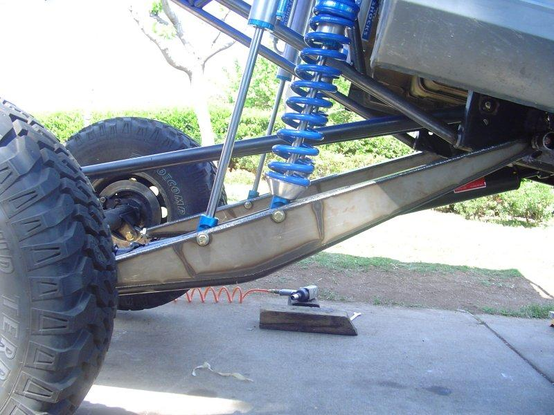 Weld it and do it yourself parts