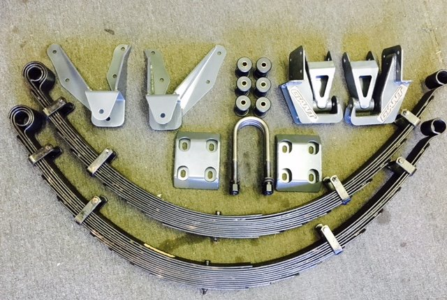 Bronco 64″ Long Travel Leaf Spring Kit