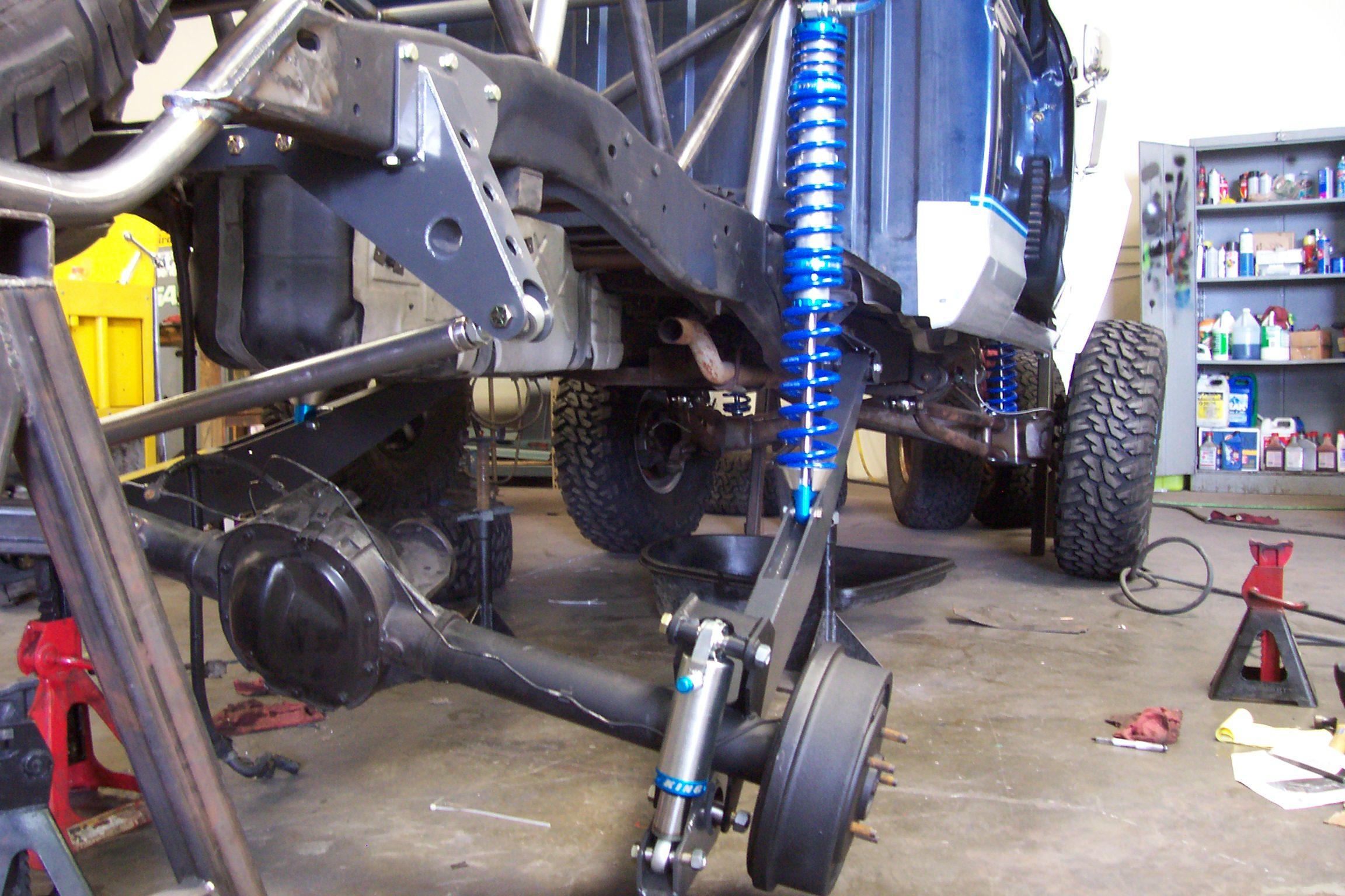 Ford Ranger Daily Driver Link Kit