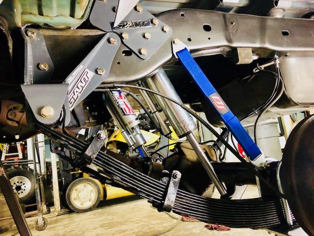 Bronco rear shocks and mounts