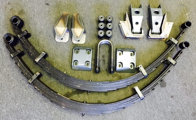 Toyota 62″ Long Travel Leaf Spring Kit